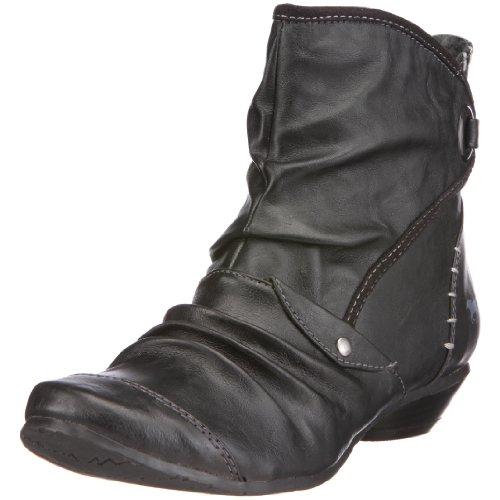 Mustang 1026-508 Damen-Stiefelette, Damen Stiefel, Schwarz (schwarz 9), EU 38