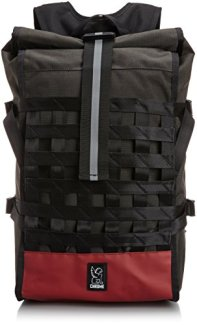 Chrome Unisex Barrage Graphite/Crimson Backpack