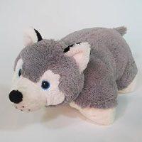 Amazon.com: Plushez Rusty Husky Pillow Pet: Toys & Games