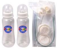 Podee Hands-Free Baby Bottle Feeding System (Twin Pack ...
