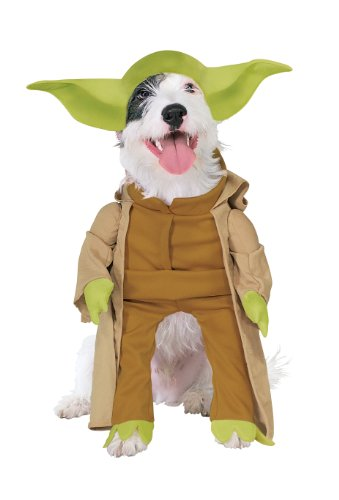 Rubies Costume Star Wars Collection Pet Costume, Yoda with Plush Arms, X-Large