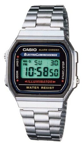 Casio Unisexarmbanduhr A168WA-1YES