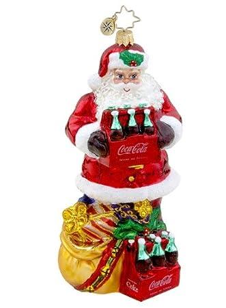 Santa with Coke