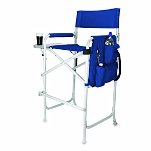 Amazoncom  Celebrity Portable Tall Director Chair Navy