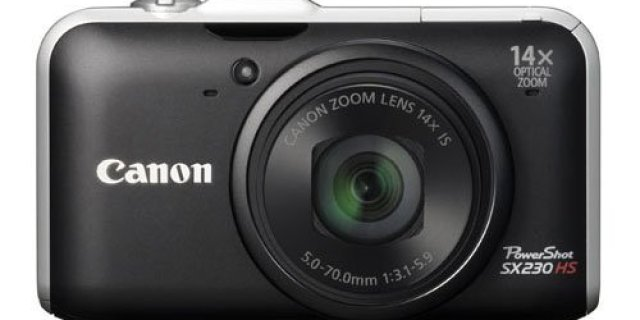 Review Canon PowerShot SX230HS 12 MP Digital Camera