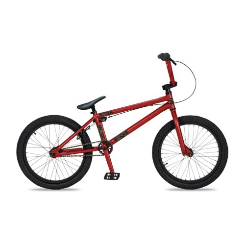 Dk Cygnus Bmx Bike With Black Rims (Red, 20-Inch) & FREE MINI TOOL ...
