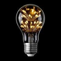LIGHTSTORY Starry LED Bulb, E26 Base 2200K A19 Edison ...