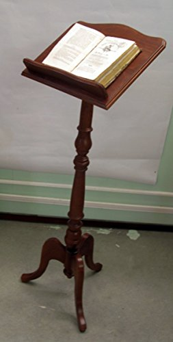 Notenständer aus Holz H cm 130