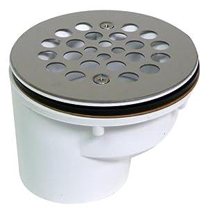 Amazon.com: Canplas 321962WSS Offset shower Drain: Home