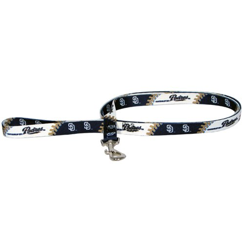 San Diego Chargers Dog Collar: MLB San Diego Padres Pet Lead, Large, Team Color