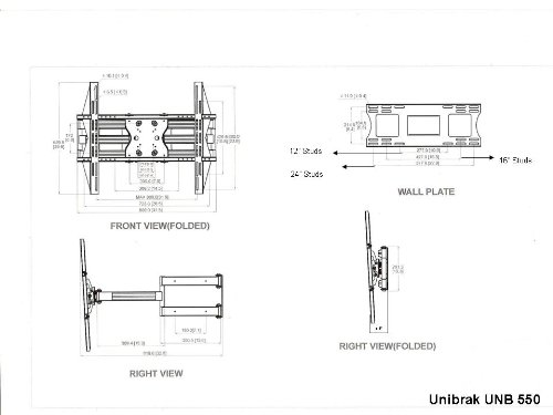 Panasonic tv wall mount instructions