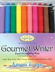 Americolor Food Marker Writers- 10 Color Pack