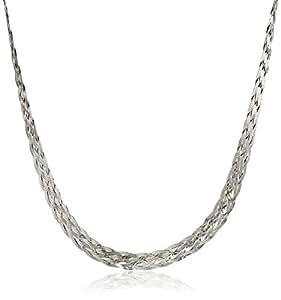 Amazon.com: Italian Sterling Silver 6-Strand Braided