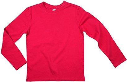 Earth-Elements-Big-Kids-Youth-Long-Sleeve-T-Shirt-Medium-Fuchsia