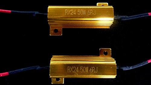 50w 6ohm Led Load Resistors For Led Turn Signal Lights Or Led License