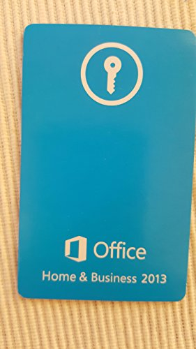 Microsoft Office Home and Business 2013 – 32/64 Bit – ITA