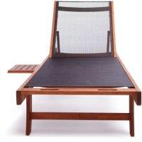 Strathwood Basics Chaise Lounge Chair with Textilene ...