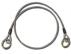 Guardian Fall Protection 10420 3-Foot Galvanized Cable