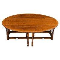 Amazon.com - English Oak Gateleg Coffee Table