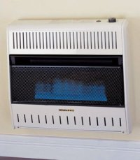 Gas Space Heaters Ventless: ProCom Blue Flame Vent-Free ...