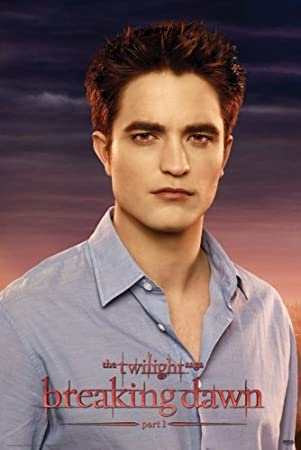 Poster:  Breaking Dawn Part I:  Edward Cullen [Robert Pattinson]