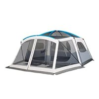 Embark 9 Person Cabin Tent With Screen Porch - 14'x15'
