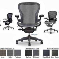 Herman Miller Aeron Chair Size B Reviews Best After Lower Back Surgery Hoyt Frye Desk Basic Ergonomic Task Graphite Frame Classic Carbon
