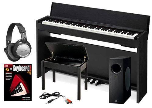 Casio PX-830 Digital Piano BUNDLE+ w/ Subwoofer, Wood Bench & Stand