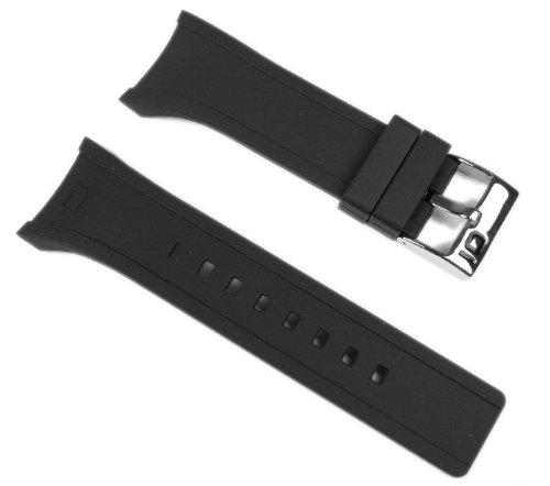 THE ONE BINARY Lightmare Damen Ersatzband Uhrenarmband Kautschuk Schwarz LL102*
