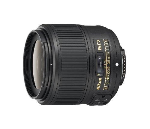 Nikon AF-S FX NIKKOR 35mm f/1:1.8G ED Fixed Zoom Lens with Auto Focus for Nikon DSLR Cameras