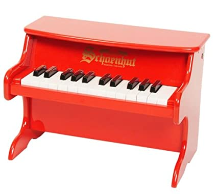 Schoenhut 25-Key My First Piano II, Red