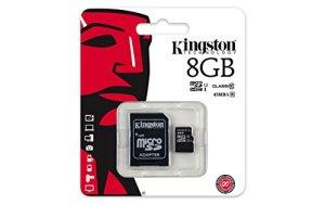 Kingston-Scheda-MicroSD-Classe-10-UHS-I-45-MBs-Nero