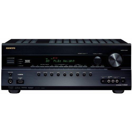 Onkyo TX-SR608 7.2 AV-Receiver (THX Select2 Plus, HDMI 1.4 3D/ARC, Audyssey DSX/Dolby PL IIz, VGA) schwarz
