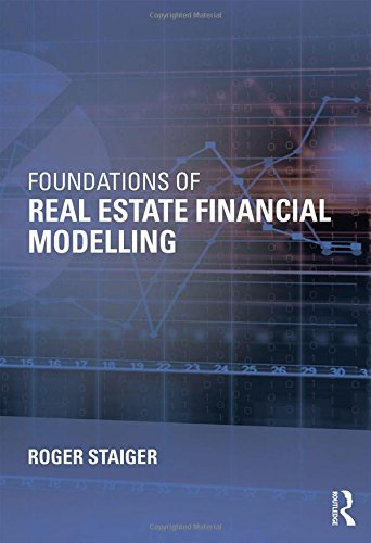 1138025178 – Foundations of Real Estate Financial Modelling