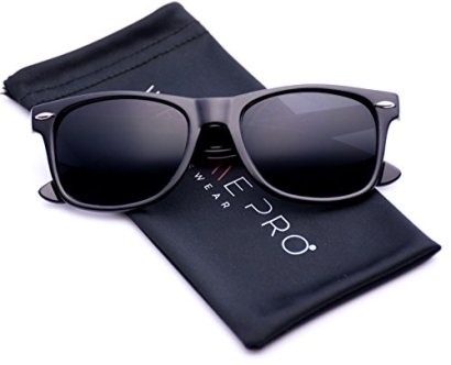 Black-Classic-Horn-Rimmed-80s-Retro-Sunglasses
