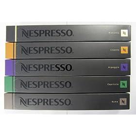 50 Nespresso Capsules