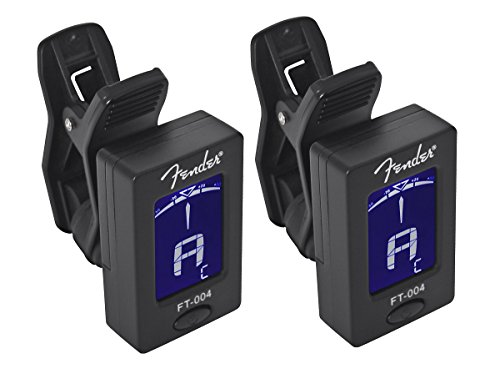 Fender-FT-004-Chromatic-Clip-On-Tuner-Packs