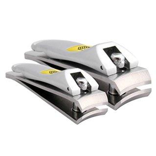Harperton Nail Clipper Set - Fingernail + Toenail - Stainless Steel