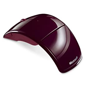 Microsoft Arc Mouse (Red)