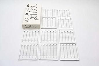 Allen Bradley 1492-SM6X12 Snap-In Marker Card 6mm x 12mm