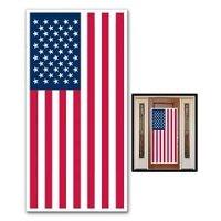 Amazon.com : USA FLAG - DOOR COVER - Banner - PATRIOTIC ...