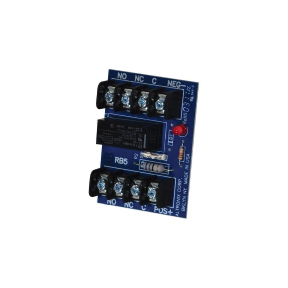 medium resolution of altronix rb5 relay board 6 or 12 v