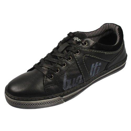 BUGATTI D6504-13 Sneaker Glattleder