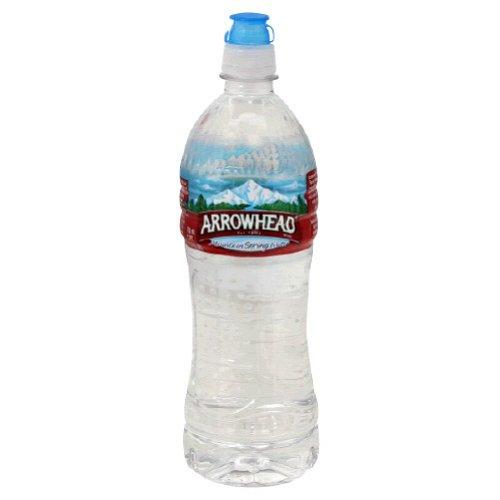 Arrowhead Bottled Water 24 Ounce Sport Cap Bottles Pack