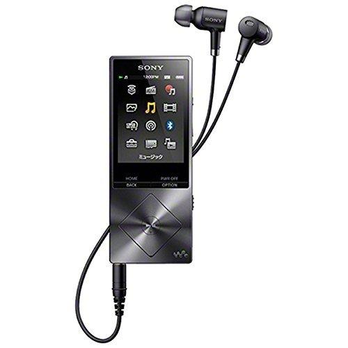 SONY ウォークマン A20シリーズ 16GB ハイレゾ音源対応 ノイズキャンセリング機能搭載イヤホン付属 2015年モデル チャコールブラック NW-A25HN BM