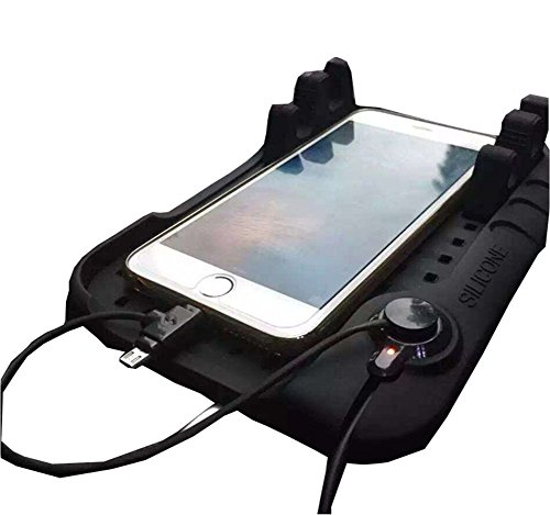 新型 多機能 携帯車載GPSホルダー  ダッシュボード iPhoneAndroid スタンド   カー充電用品  ブラック