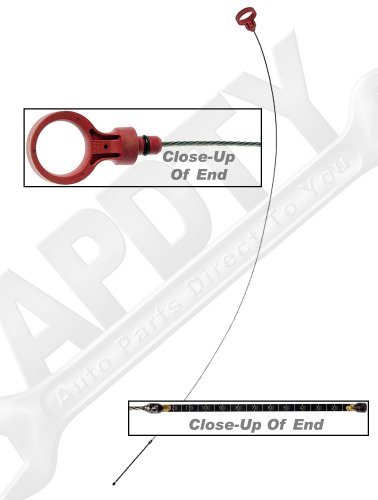 APDTY 028438 Transmission Fluid Oil Dipstick Measuring