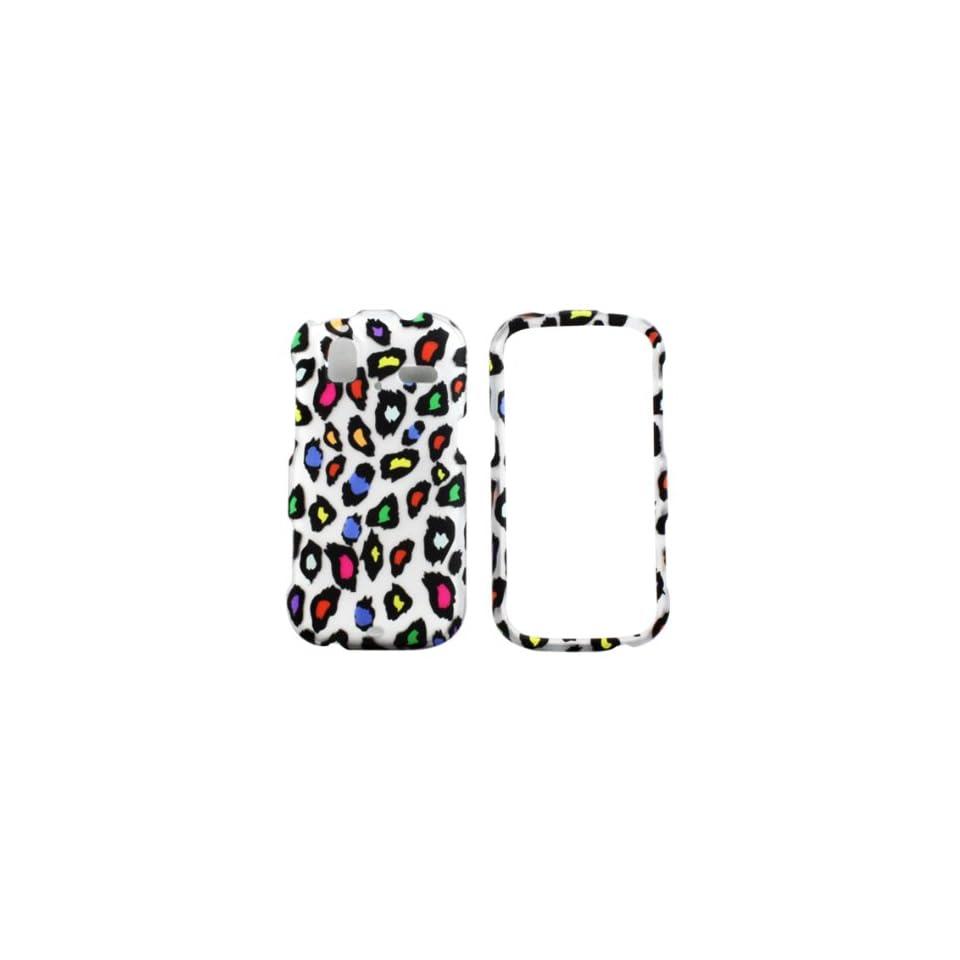 HTC Amaze 4G (T Mobile) Color Leopard Case Cover
