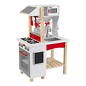 Amazoncom KidKraft Modern Island Kitchen Toys  Games