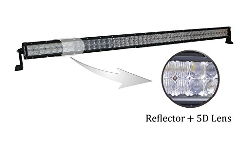 Autofeel 5D Lens 42 inch 240w Philips Led Light Bar Flood